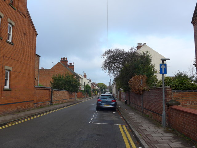 Looking from Toothill Road into Gladstone Street