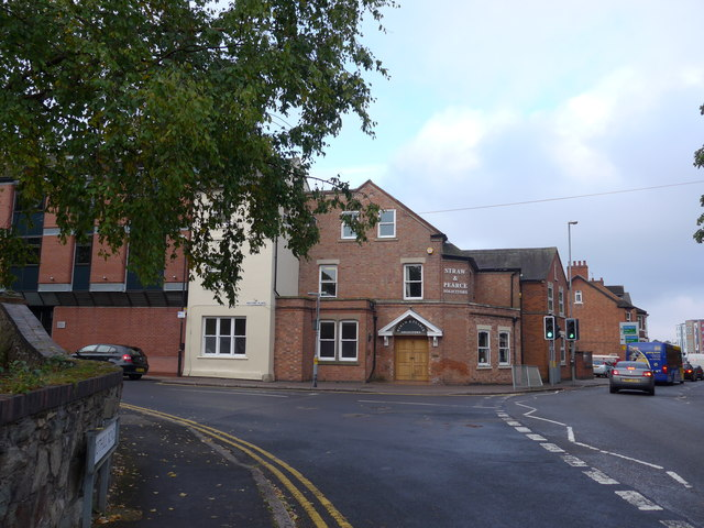 Approaching the junction of Toothill Road and Steeple Row