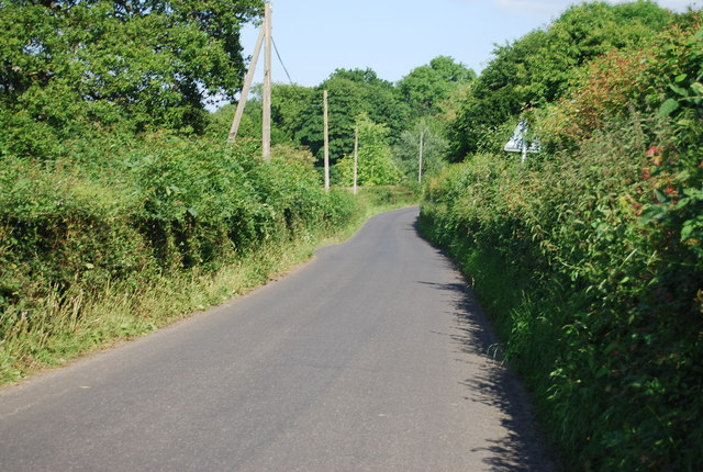 Lane to Chiddingstone