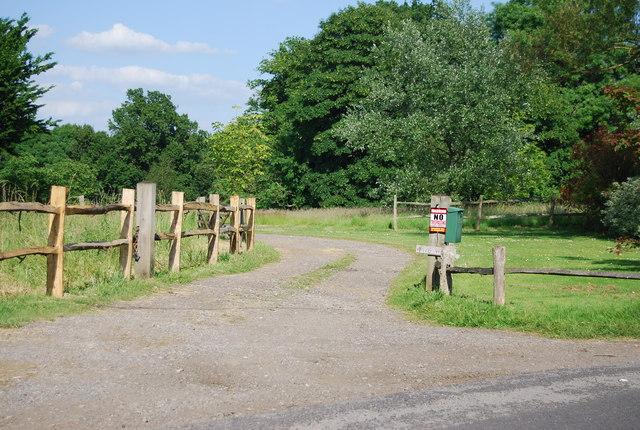 Farm track near Chiddingstone