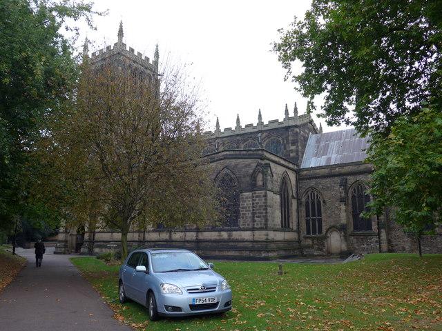 An early morning visit to Loughborough Parish Church (6)