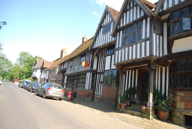 Post Office and village store, Chiddingstone