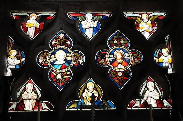 Stained glass, Clevedon Court
