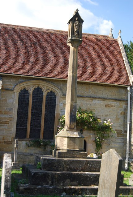 War Memorial, Church of St Mary, Chiddingstone