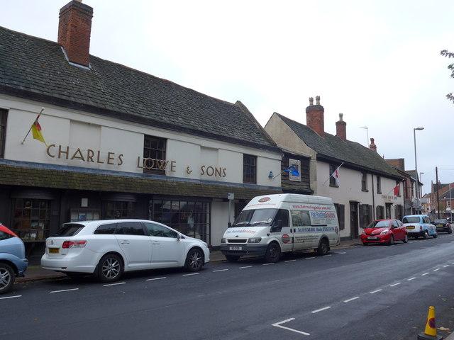 Charles Lowe & Sons, Churchgate