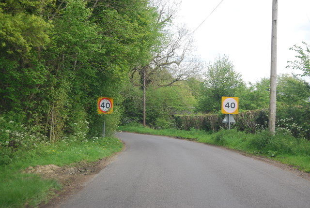 Speed restriction, Broadwater Lane
