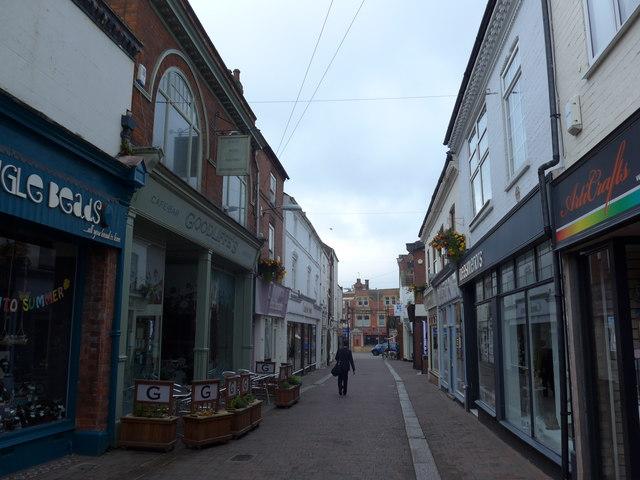 Approaching Goodliffes Bar in Church Gate