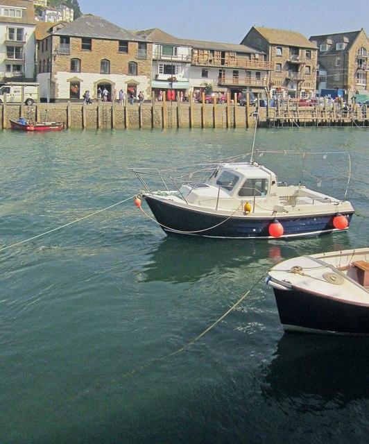 Boats at Looe