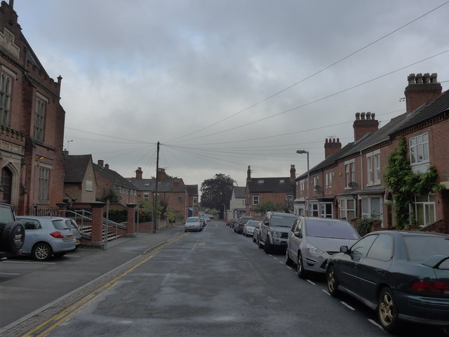 Looking north-west along Rectory Road