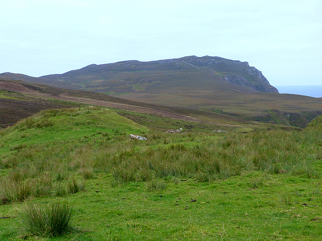 Moorland to the east of the Mull of Oa
