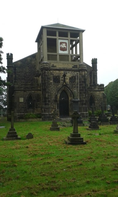The Church of St Luke at Eccleshill