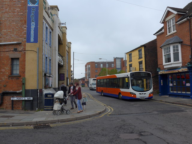Junction of St Mary's Way and King Street