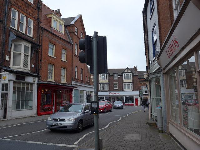 Windsor Street: mid September 2014