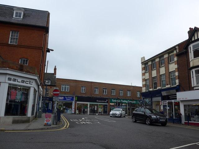 Looking from Windsor Street towards Sherrard Street