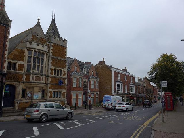 Burton Street: mid September 2014