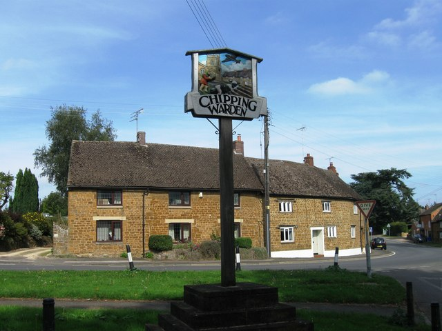 Village signpost