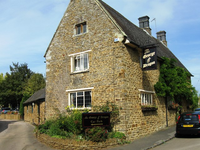 The George and Dragon, Chacombe