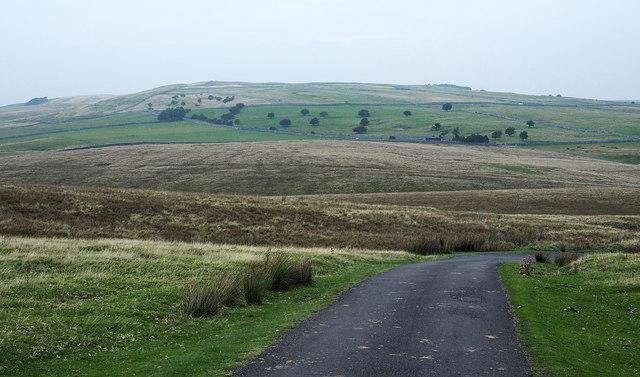 Tommy Road descending and bending