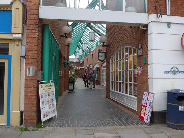 Arcade off Nottingham Street