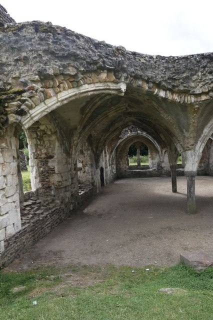 One side of the Refectory