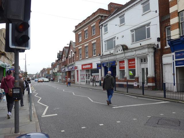 Pedestrian crossing Sherrard Street