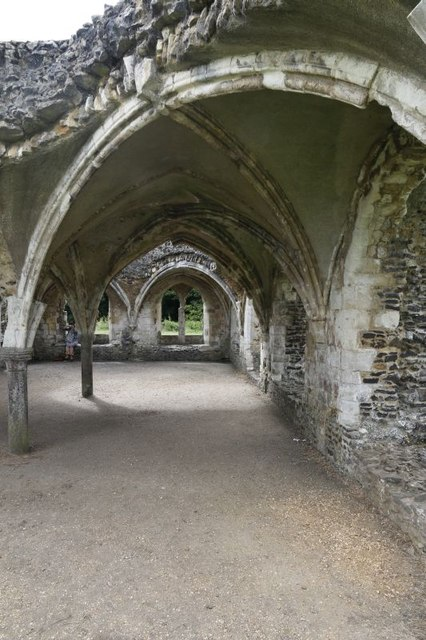 Arches in the Refectory