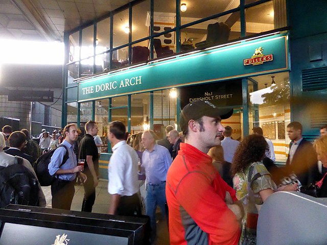 Fire alarm at 'The Doric Arch'