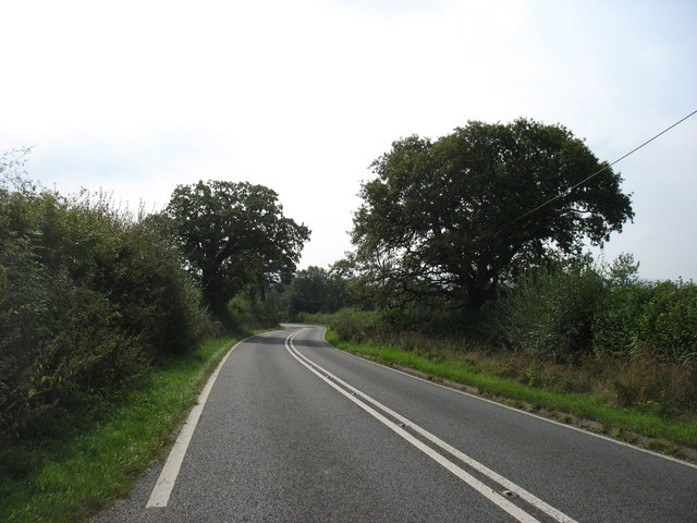 The old A470 heading for Builth Wells