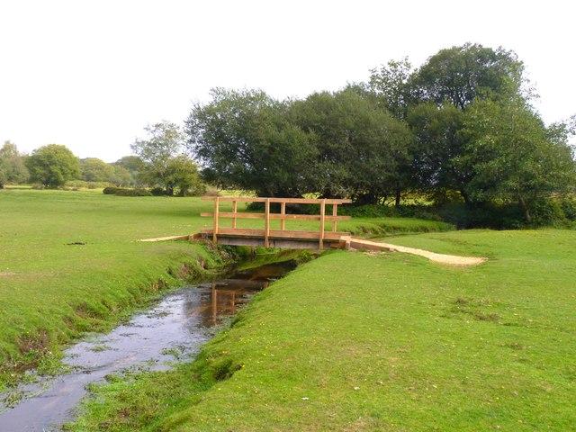 New Footbridge at Mill Lawn