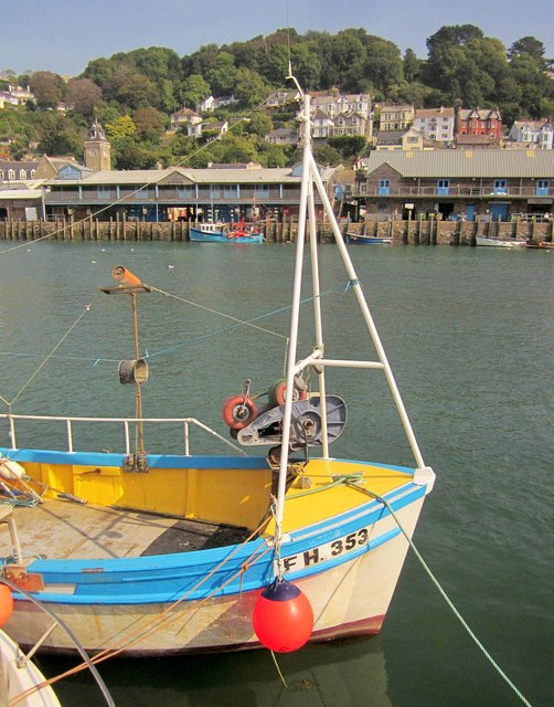 The Jane Louise at Looe