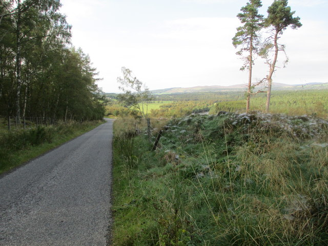 Minor road at Feabuie