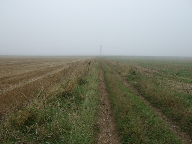 Track towards Haisthorpe