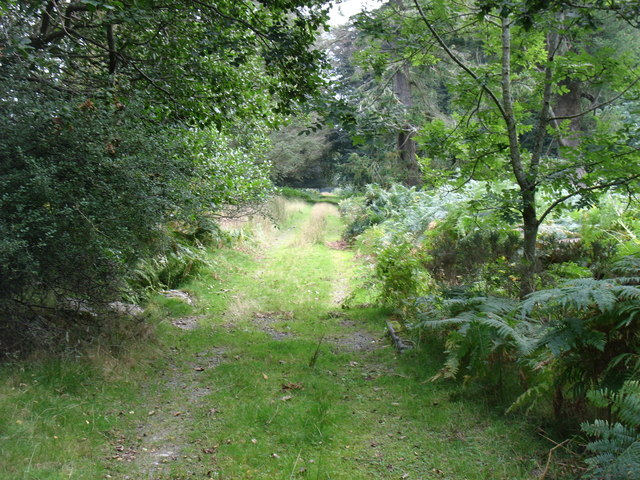 The track to Penlanole