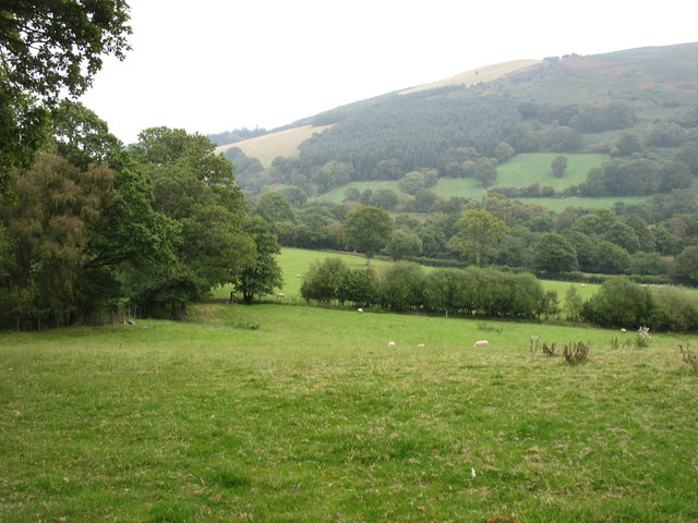 Country near Coed Tew Mill