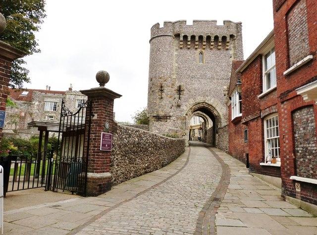 Castle Gatehouse, Lewes East Sussex