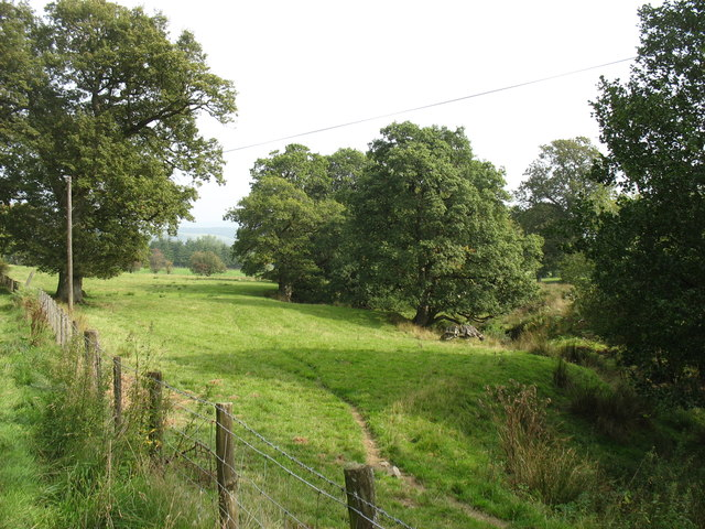 Countryside west of Newbridge-on-Wye