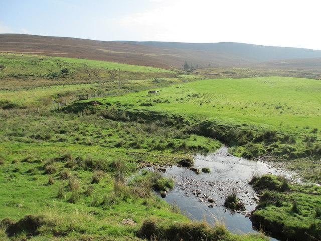 Moorland by Allt na Criche