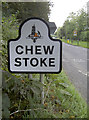 ST5661 : Village sign by Neil Owen