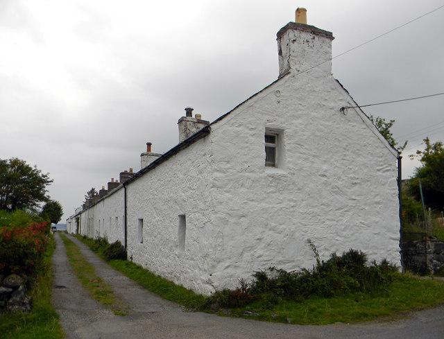 Port Ramsay village - looking north-east