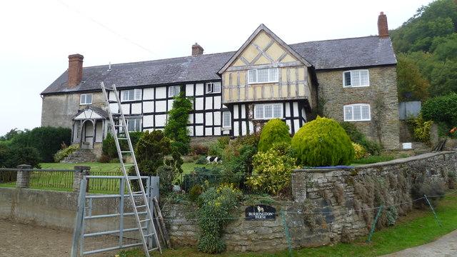 Burrington Farm house