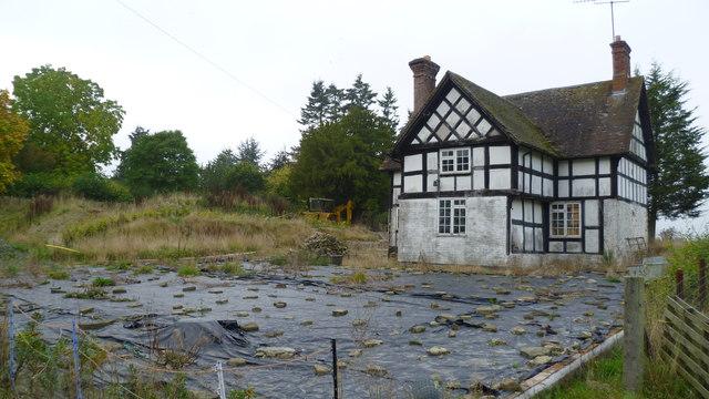 Cottage near Burrington Farm