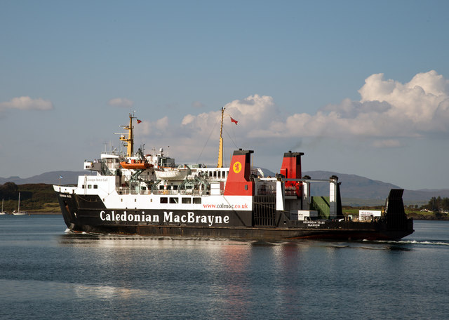 Hebridean Isles in Oban Bay (3)