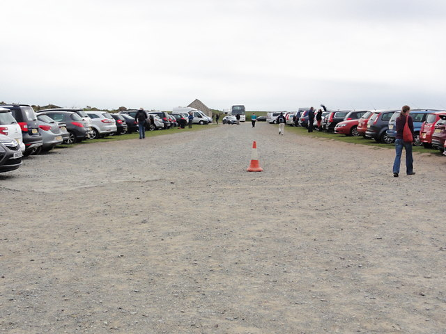 The Car Park at Martin's Haven