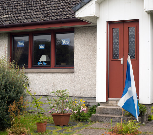 The only YES in Ardgour