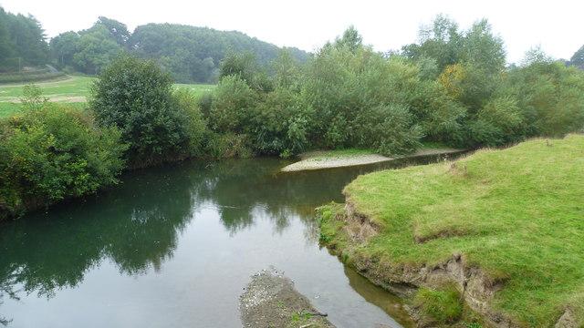 The River Teme from Burrington Bridge