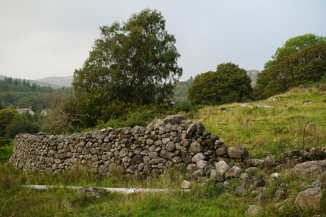 Wall in Eskdale Green