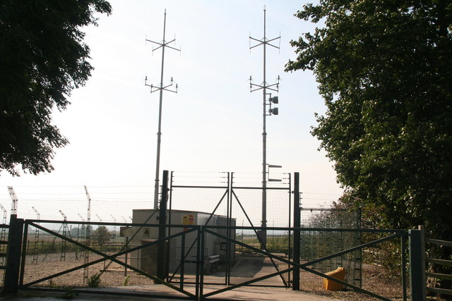 N.A.T.S. Rx facility at the top of Walesby Hill