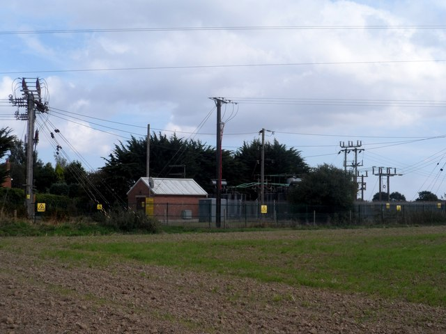 Electricity substation, Lawford
