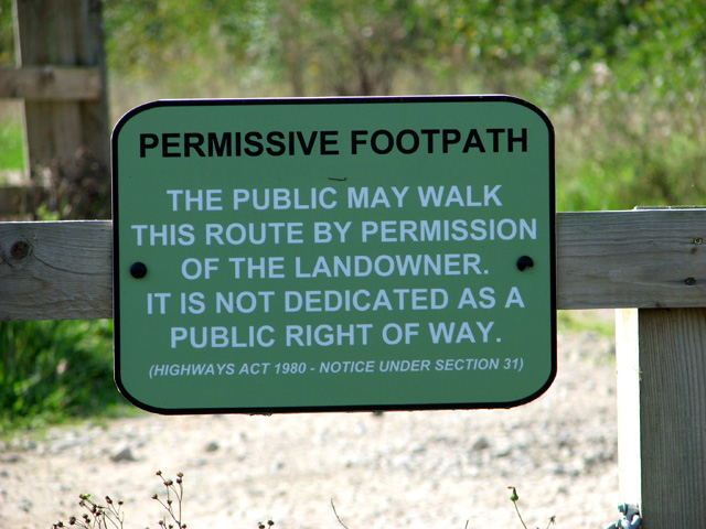 Permissive path (sign)