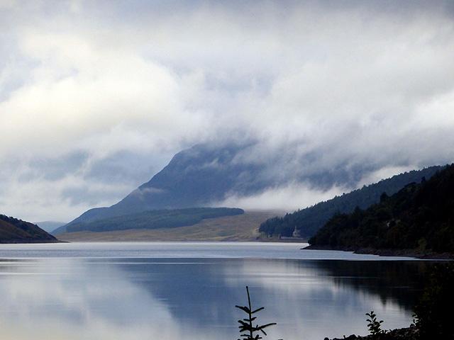 Ben Alder viewed across Loch Ericht